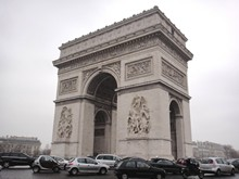 Arc de Triomphe in Paris France