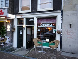 Utopia Coffeeshop, Amsterdam, Holland / Netherlands