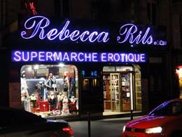 Paris Red Light District Boulevard De Clichy Photos