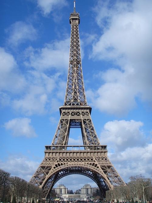 Eiffel Tower Paris France La Tour Eiffel