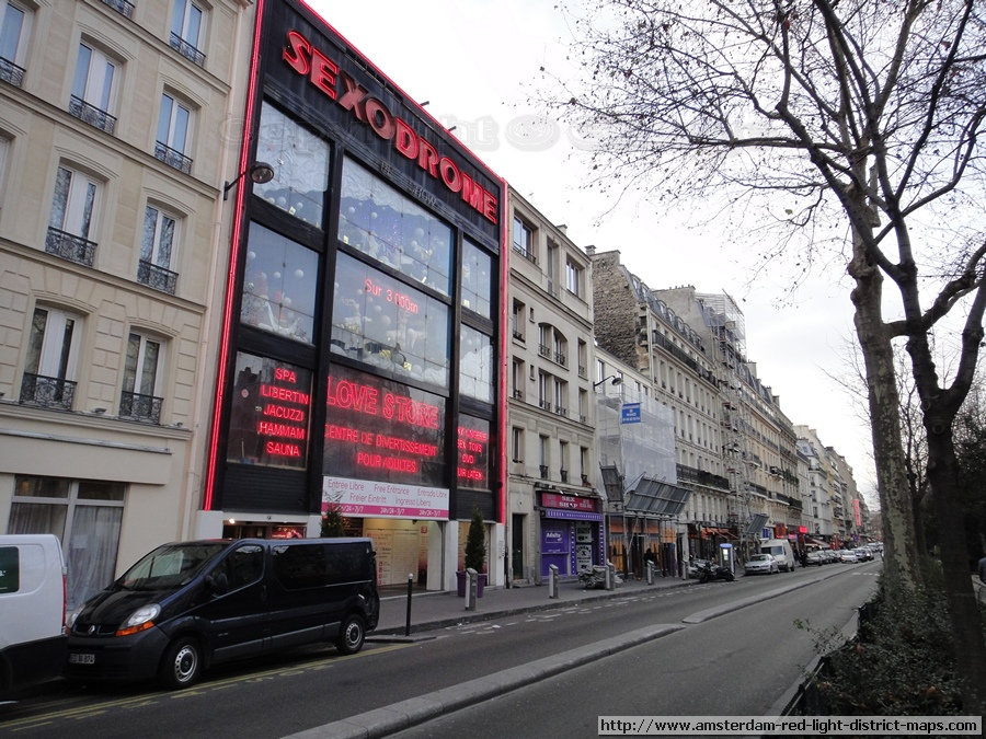 Paris Red Light District Boulevard De Clichy Photos