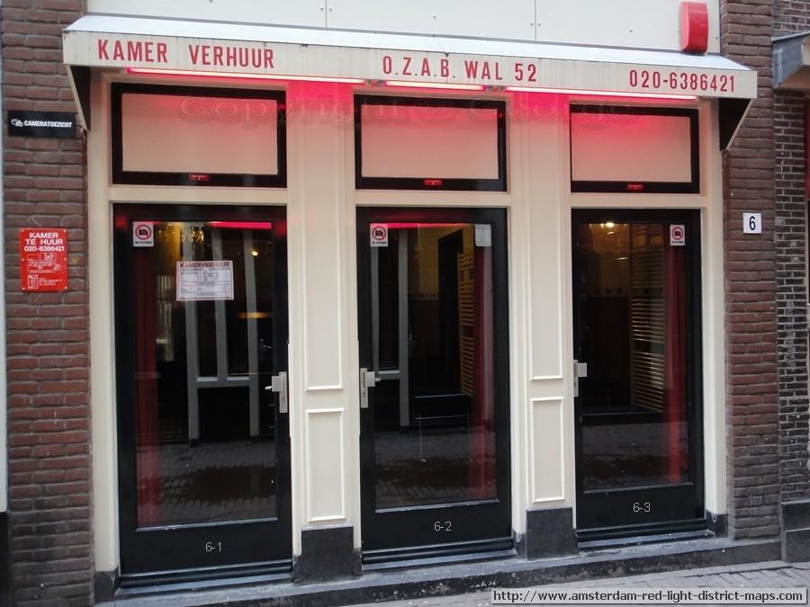 Amsterdam Red Light District Oudekennissteeg 6