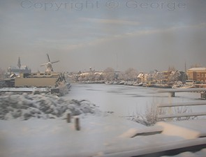 Haarlem in the snow of 2010. Copyright: George 2011