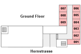 Pascha floor plan, Cologne Germany (Köln Deutschland)