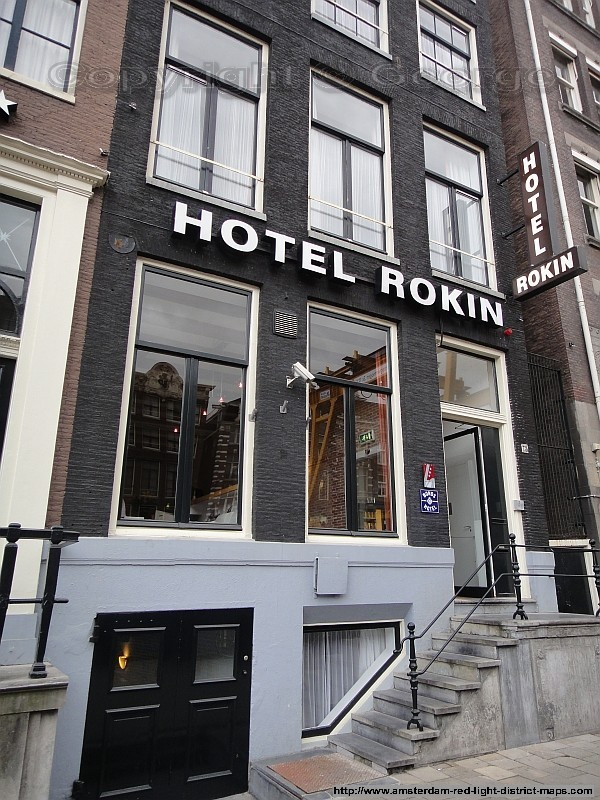 Amsterdam red light district maps videos photos for Hotel doria amsterdam