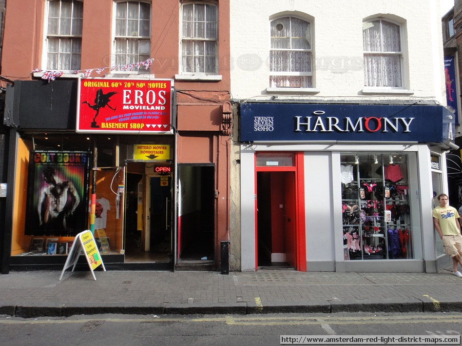 Photo of Soho / London's red light district in England (Great Britain /  United Kingdom