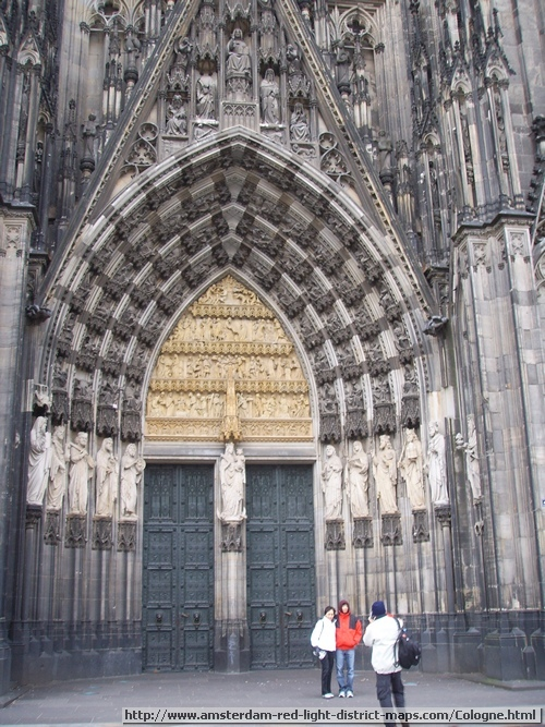 Cologne's Cathedral (Hohe Domkirche St. Peter und Maria or K�lner Dom) Germany (Köln Deutschland)